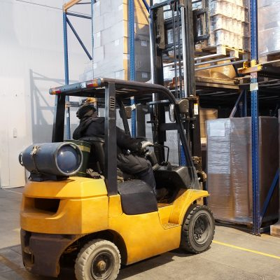 Warehousing & Storage with Forklift Truck